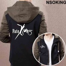 2017 New Spring Autumn Fate Zero Hoodie Anime Fate stay night Coat Men zipper Jacket