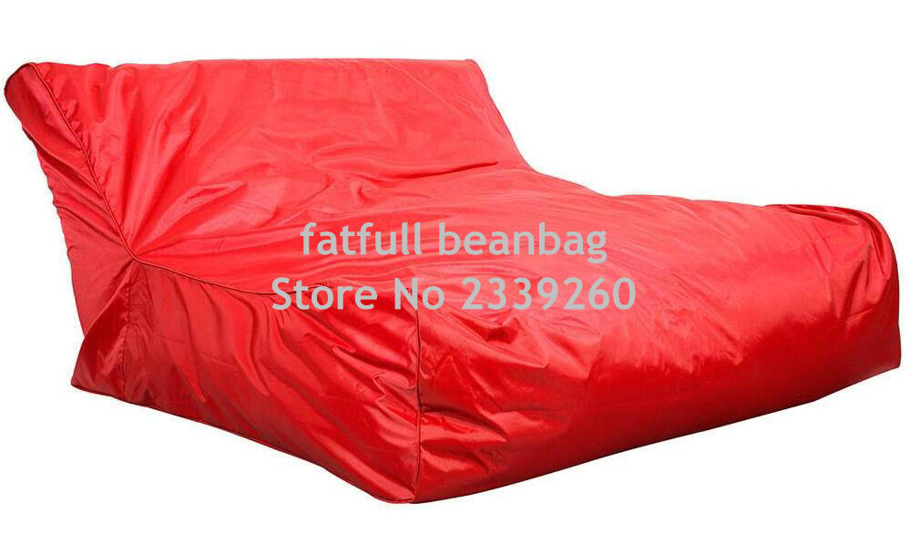 Cover only No Filler red water float extra large bean bag