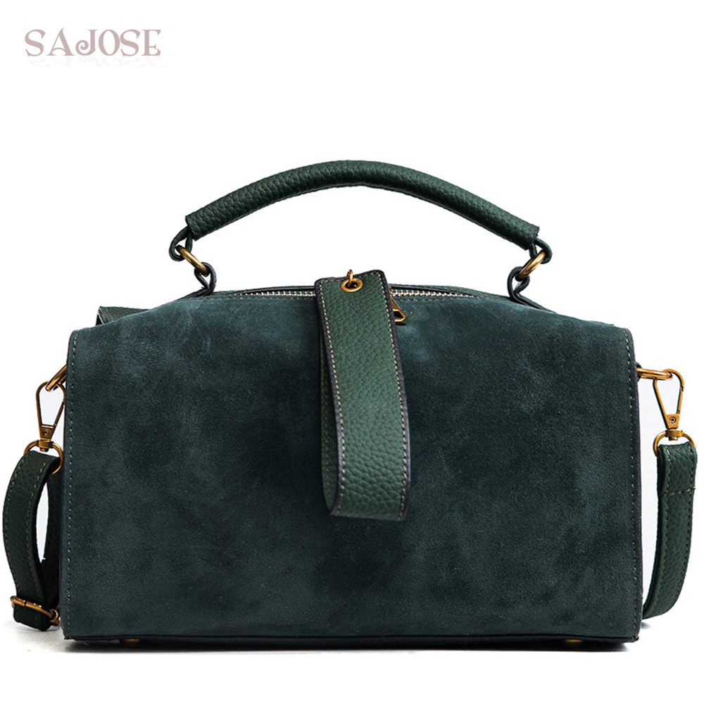 Women Fashion Leather Handbags High Quality Green Lady With Lattice Women's Shoulder Bag Brand Designer DropShipping