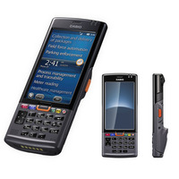 Casio IT G500 4.3 Inch Touch Screen 1D Portable PDA Machine Business Retail Terminal Data Collector Part# : IT G500 10C CN