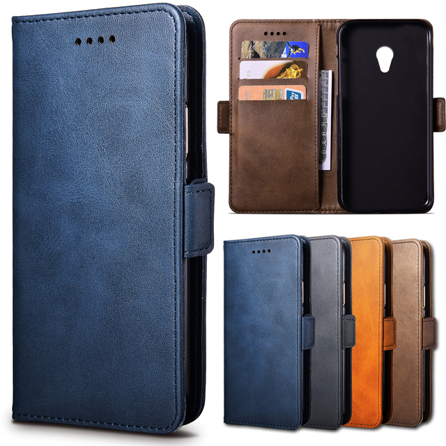 US $6 46 15% OFF|Top Luxury Leather Case For Alcatel U5 / U 5 / 5044D 5044Y  / 5044 D 5044 Y 5 0 inch Cellphone Wallet Flip Cover Case Housing-in Flip