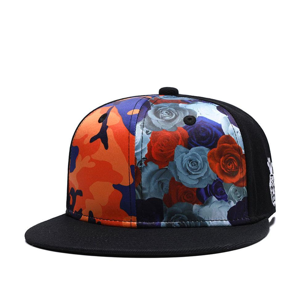 Hat Snapback Cap Hip Hop Baseball Flat Adjustable Trucker Embroidered Mens Hats