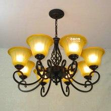 Multiple Chandelier Fashion  Lights 8 vintage iron lamps  lamp  light crystal lamp ZZP