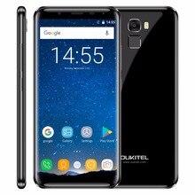 """Оригинальный Oukitel K5000 4 г LTE мобильный телефон 4 ГБ Оперативная память 64 ГБ Встроенная память MT6750V Octa core android 7.0 5.7 """"HD 5000 мАч 16MP отпечатков пальцев OTG"""