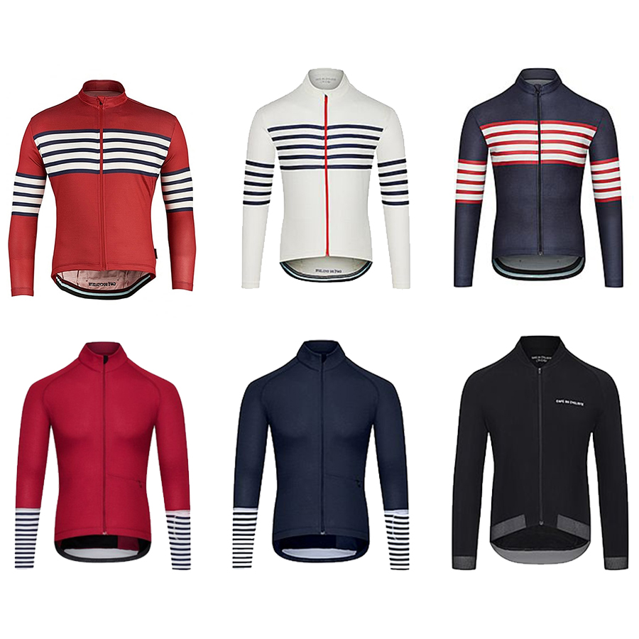 2019 Top quality Hot sale Thermal Fleece Cycling Jerseys Winter Warm Mtb Long Sleeve Jacket men's <font><b>Bike</b></font> <font><b>Wear</b></font> Cycling Clothing image