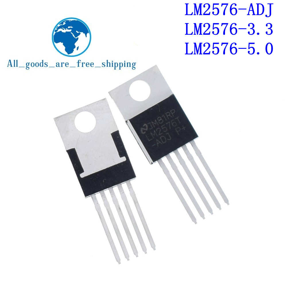 10pcs LM2576T-ADJ LM2576T LM2576 ADJ Switching Regulator TO-220*JA