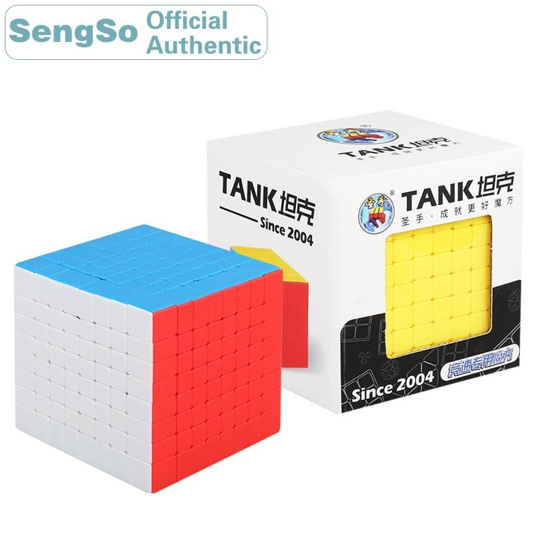ShengShou réservoir 8x8x8 Cube magique 8x8 Cubo Magico professionnel néo vitesse Cube Puzzle Antistress Fidget jouets pour enfants