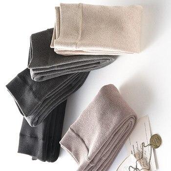 цена Winter Women Leggings inside Thicken Fur Warm Leggings Girls Fleece Legging Pants Female Velvet Leggins Dropshipping thickening онлайн в 2017 году