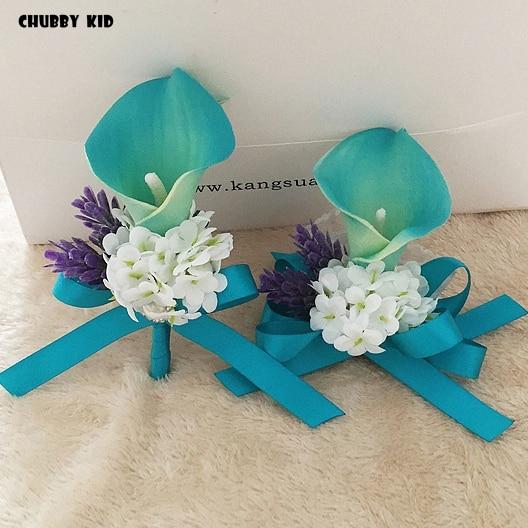 ad3ad0d789 10pcs/lot ! wholesale wedding groom groomsmen corsages Calla Lily ...