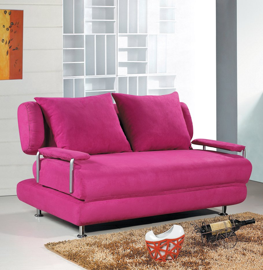 Flannelette Beautiful practical fashion&modern design sofa bed best ...