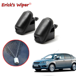 Erick's Wiper 2Pcs/lot Front Windshield Wiper Washer Jet Nozzle For Ford Focus 2 2004 - 2011 OE: 1708176