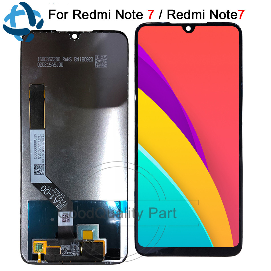 6.3 Nouveau pour Xiaomi Redmi Note 7 LCD écran de visualisation ensemble de digitaliseur tactile Snapdragon 660 pour Redmi Note7 écran LCD