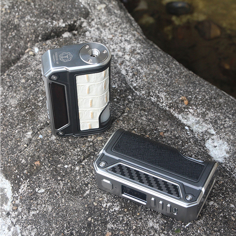 Original Lost vape Therion BF DNA75C Mod vaping electronic cigarette with 75W Bottom feeding squonk Evolv DNA 75C chip box MOD vivitek qumi q7 plus