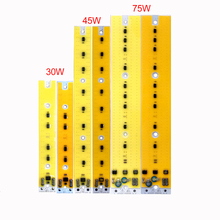 10pcs/lot LED Cob Chip Lamp 30W 40W 50W AC110V no need driver Smart IC Fit For DIY FloodLight wall light Cold White WarmWhite 10pcs lot led lamp 220v cob chip overvoltage protection smart ic no driver 50w light beads for diy spotlight downlight