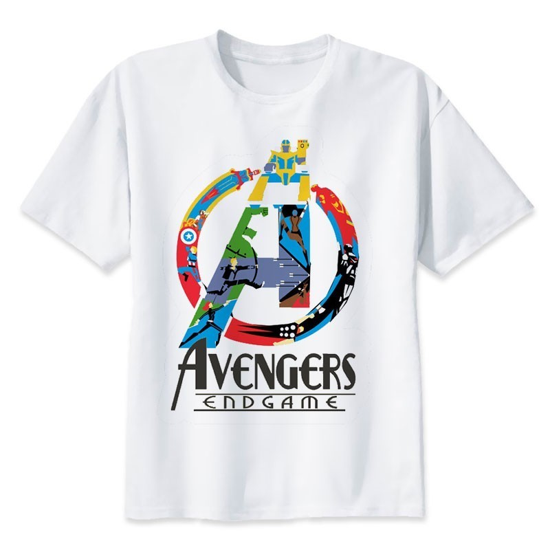 BTFCL Summer Neweset Avengers Endgame T Shirt Men women Ironman Captain America End Game Marvel Young T shirt 90s Tshirt in T Shirts from Women 39 s Clothing