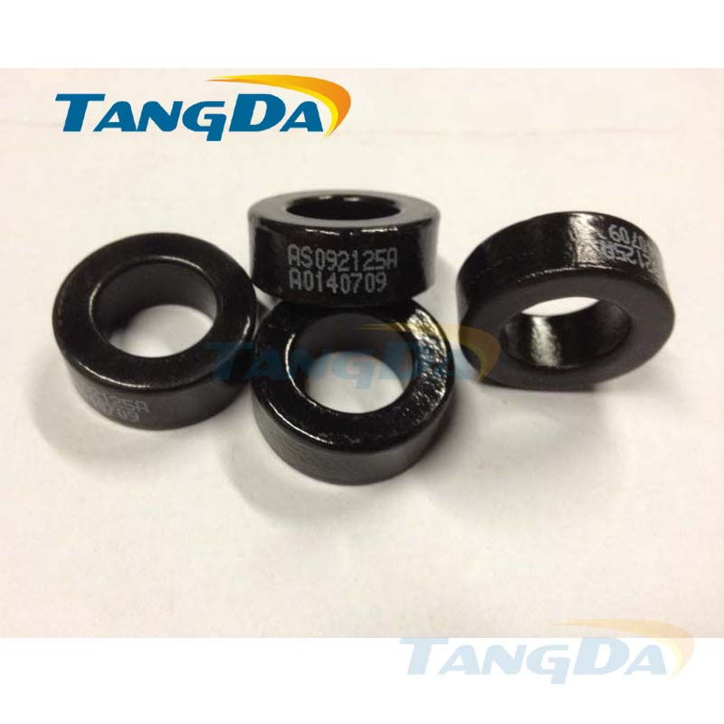 Tangda sendust FeSiAl toroidal cores inductor OD*ID*HT 24*14*10 mm AL: 105nH/N2 Ue: 125 AS092125A CS234125 77350-A7