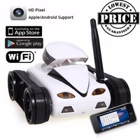 777 270 Mini RC Tank With Camera IOS Android Phone Wifi Real time Transmission Remote Control Tanks Shoot Robot RC Toys for kid