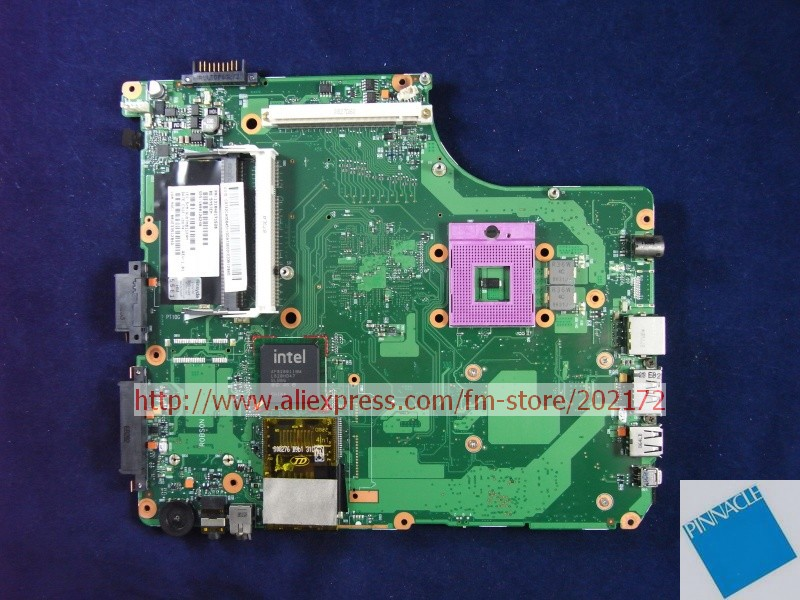 V000126240 MOTHERBOARD FOR TOSHIBA Satellite A300 motherboard 6050A2171501 nokotion sps v000198120 for toshiba satellite a500 a505 motherboard intel gm45 ddr2 6050a2323101 mb a01