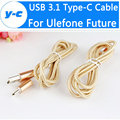 Ulefone Future USB 3.1 Type-C Cable 100% Original New Micro USB Wire For Ulefone Future Mobile Phone