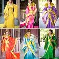 Горячие Продажи Новый Китайский Древний Традиционный Королевский Инфанта Драматургического Костюм Одеяние Dress Бесплатная Доставка XF201503
