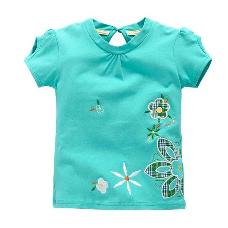 VIDMID Girl t-shirt big Girls tees shirts children blouse t-shirts big sale super quality kids summer clothes jacket rabbit W01 1