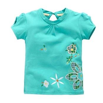 VIDMID Girl t-shirt big Girls tees shirts children blouse t-shirts big sale super quality kids summer clothes jacket rabbit pink 1