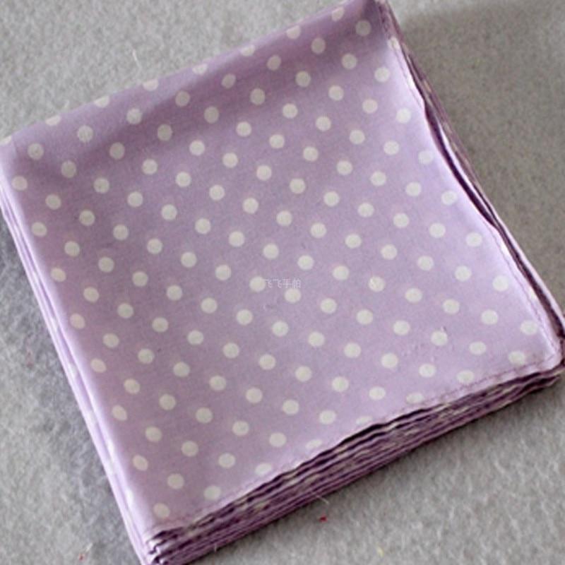 Children's Handkerchief Cotton 100% Lace Handcuffs Placemat Pocket Towel Handcuffs Child Handkerchiefs 10Pcs/Lot 28CM