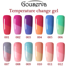 Gouserva 10ml Perfect Chameleon Nail Gel Polish Temperature Thermal Color Change Easy Soak Off Long Lasting Gel Nail Polish