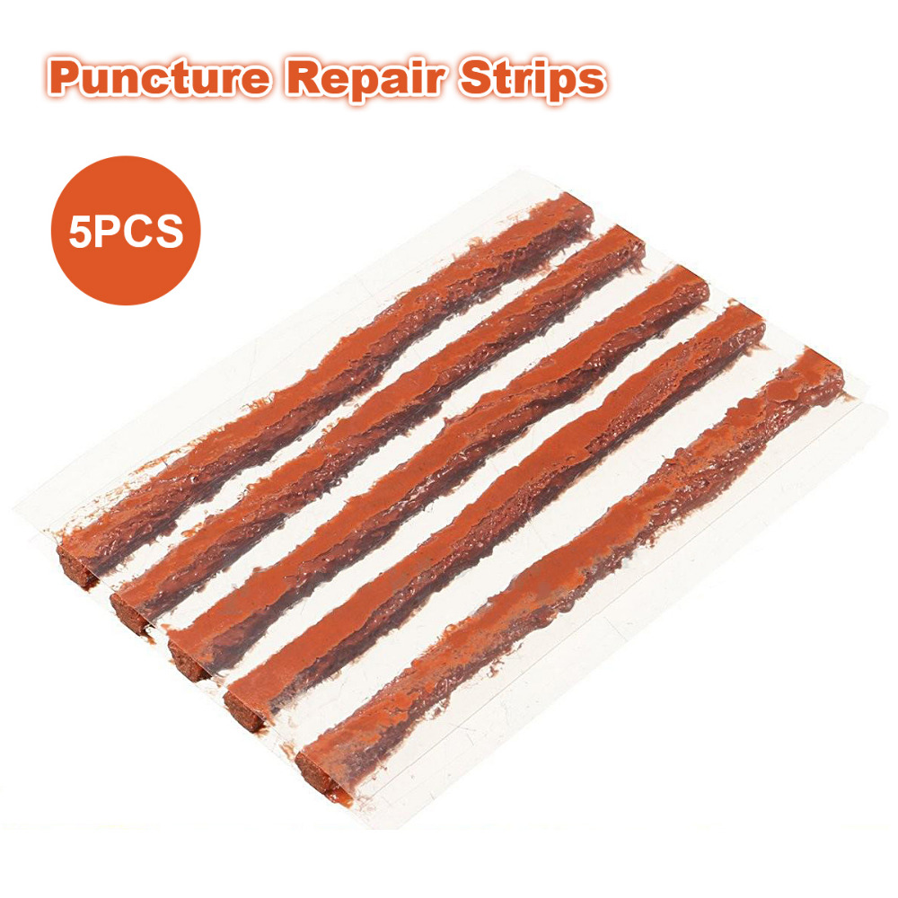 5pcs/lot Tire Repair Strip tire repair Scooter Car Motorcycle Tubeless Strips Sealer car repair tools Automobile Motorcycle Rub