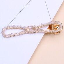 rhinestone hair clip for women hair accessories girls hairclips bow hair barrettes hairpin bow shaped rhinestone hair clip 2pcs