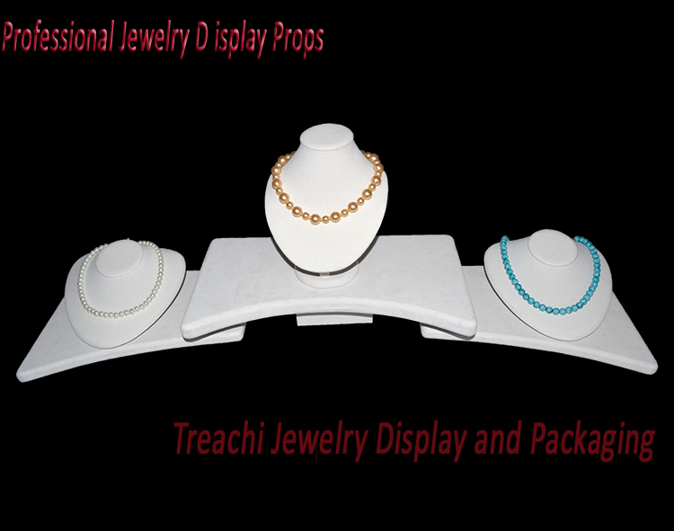 Newest Beige Jewelry Display Kit Necklace Stands Holder Bust Counter Display Props Showcase Set For Pendant Necklack DispalyNewest Beige Jewelry Display Kit Necklace Stands Holder Bust Counter Display Props Showcase Set For Pendant Necklack Dispaly
