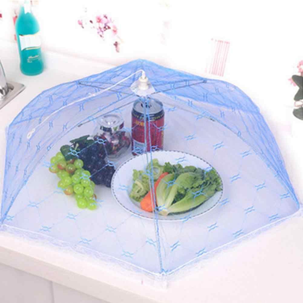 Складные анти мухи комары для еды крышка кружева Кухня стол сетка инструменты для установки палатки