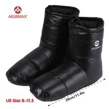 AEGISMAX/спальный мешок; аксессуары; тапочки на утином пуху; мягкие носки для кемпинга; унисекс; домашние/теплые; Длинные; легкие; для путешествий