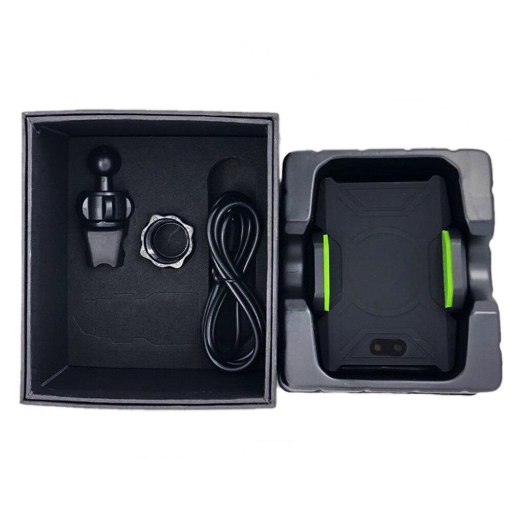 Support automatique de chargeur de voiture sans fil d'intelligence pour iphone 8X8 plus Qi chargement automatique et porte-téléphone cellulaire à ventouse
