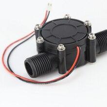 /DC генератор микро гидро генератор 10 Вт поток воды генератор/2 шт