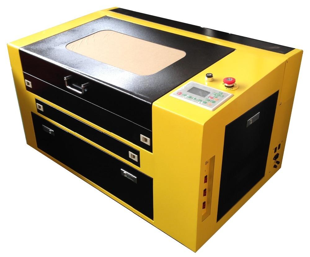 RUIDA 460 80w 4060 80w Laser Cutter Machine For Mdf, 400X600mm 80w Plywood Laser Cutting Machine
