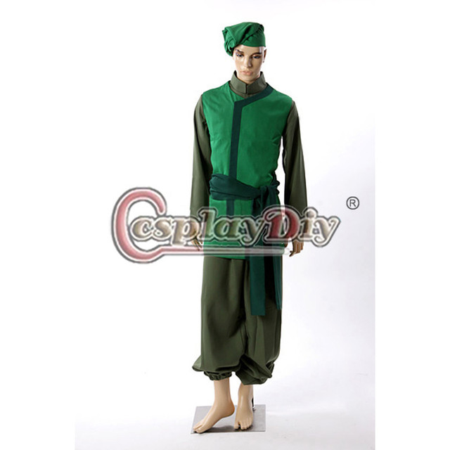 cosplaydiy avatar the last airbender cabbage merchant cosplay costume adult men carnival halloween costume custom