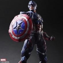 1/6 scale figure doll Marvel Comics Captain America Steven.12″ action figures doll.Collectible figure model toy gift