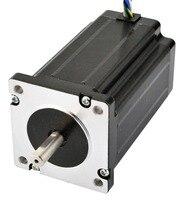 Doble Eje de la Nema 24 Del Motor de Pasos de Pasos del CNC 3.1Nm (439 oz. in) 60x60x80mm 8 Cables