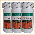 4 bottles health care dietary supplement natural carrot extract powder beta carotene capsules improve vision eye free shipping