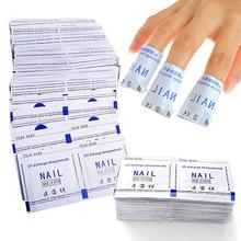 Hot! 50 Pcs Gel Polish Remover Pads Foil Nail Art Cleaner DIY Manicure Accessories
