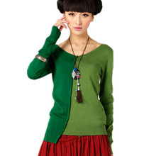 2017 spring and autumn new women sweater V neck sweater fight cashmere sweater coat loose college wind