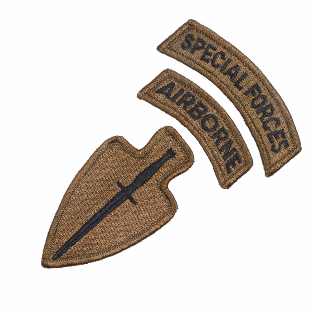 US ARMY SPECIAL OPERATIONS COMMAND AIRBORNE ARMBAND PATCH