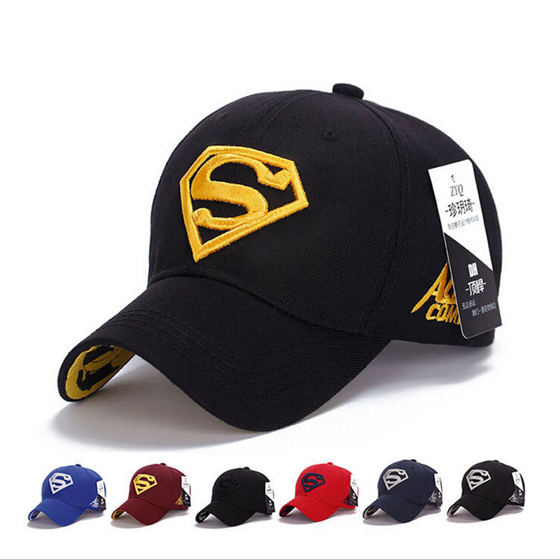 Superman Mens Baseball Cap (8 colors) 811bd0c9b97