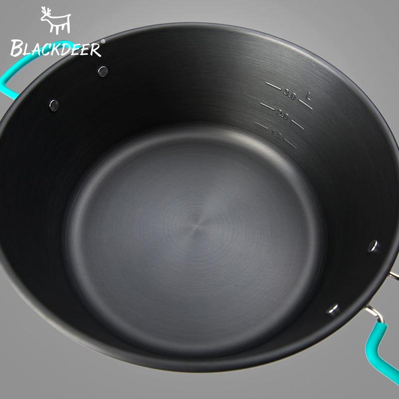Camping en plein air cuisine Camping Frypan Pot alumine Fondue chaude chinois charbon de bois couverts Set pique-nique avec couverts ustensiles de cuisine - 5