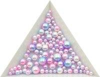 3/4/5/6/8mm No Hole Simulated Pearl Jewelry Material Holeless Mermaid Pearl Color Ball Gradual Dream Decorative Bottle Bead 2#