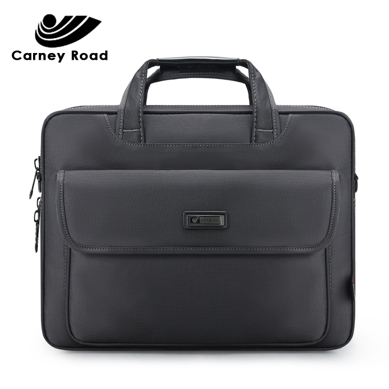 Brand Waterproof Oxford 15.6 Inch Laptop Bag Business Men Briefcase Bag Large Capacity Large Capacity Shoulder Tote Bags Casual