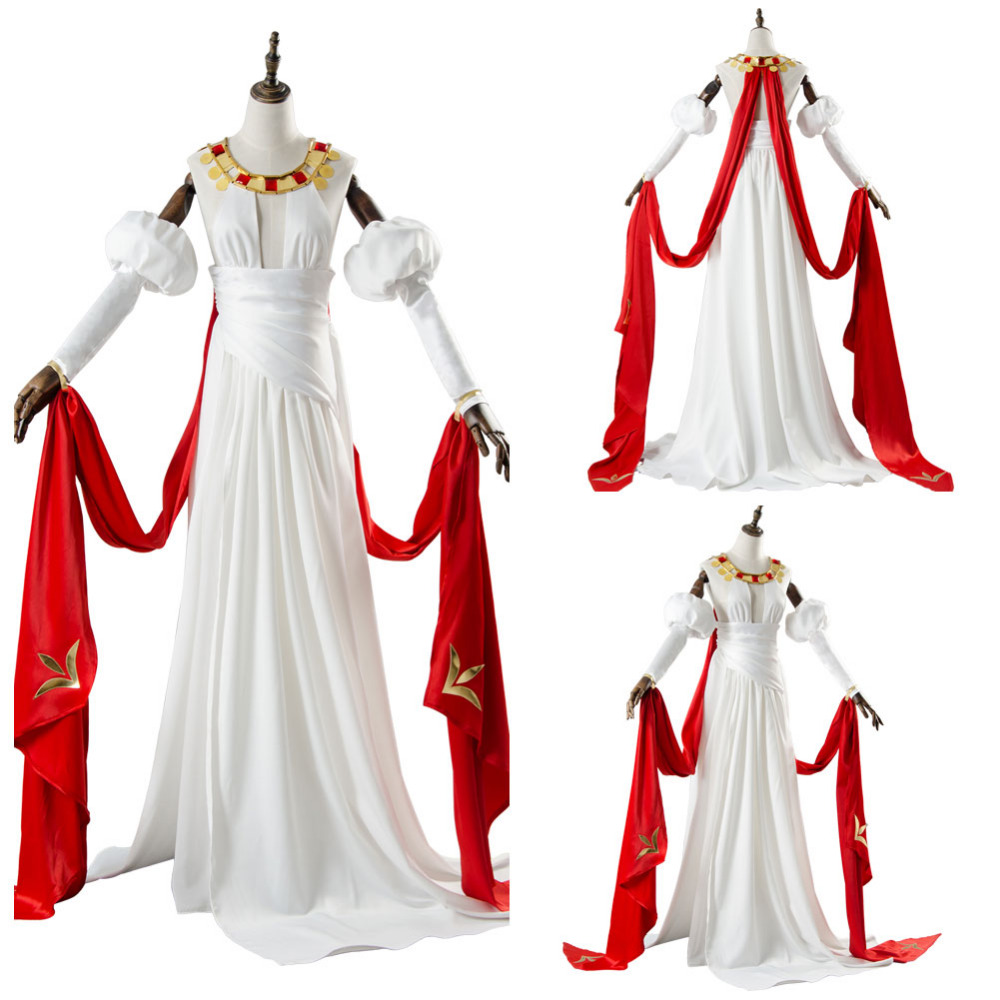 Fate Grand Order Saber Nero Claudius Dress Cosplay Costume Halloween Carnival Costumes For Women Girls Uniform