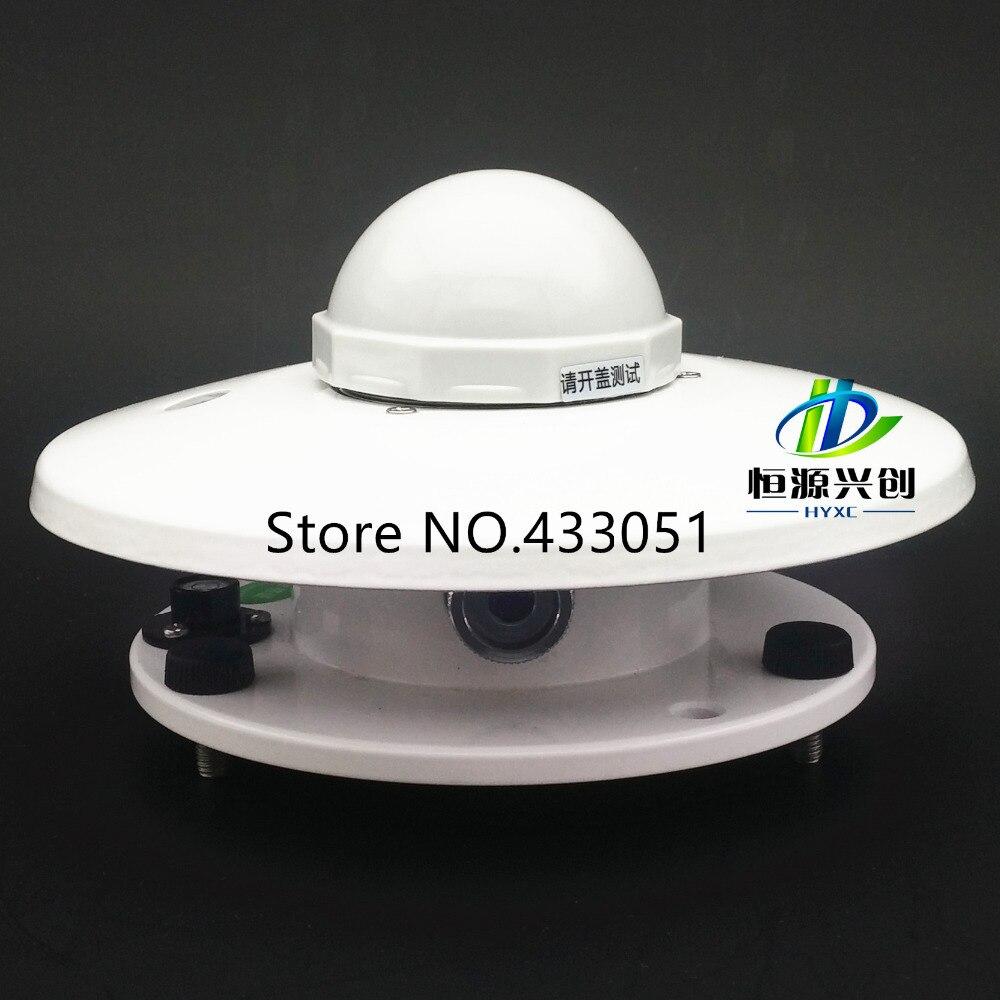 Signal de courant Total rayonnement capteur Pyranomètre l'industrie Photovoltaïque, surveillance météorologique Total rayonnement émetteur
