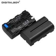 Buy Hot Sale 2pcs Battery NP-F550 NP-F330 NP F550 NP F330 Rechargeable Camera Battery For Sony TR917 TRV75 PM090 Digital Camera